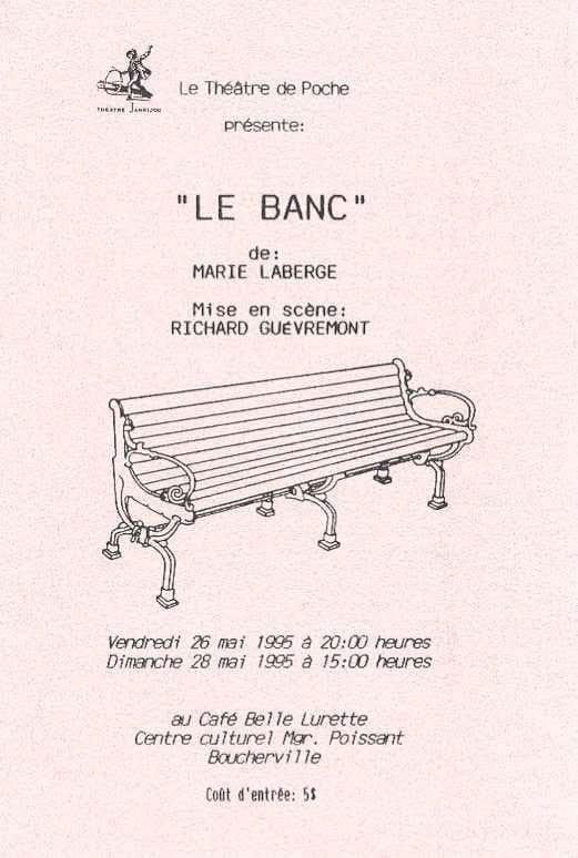 le-banc-affiche